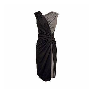 Tadashi Shoji • Silk Wrap Cocktail Dress